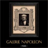Porträt - Französische Akademie - Schriftsteller - Philosoph - Jules Simon