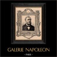 Portrait - French Academy - Historian - Gaston Boissier