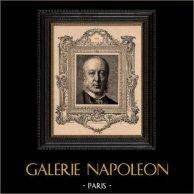 Porträt - Französische Akademie -  Politiker - Gaston Audiffret Pasquier