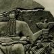 DÉTAILS 01 | Art de l'Asie Occidentale Ancienne - Fragment de la Stèle des Vautours - Dynasties Archaïques Sumériennes