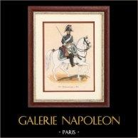 Uniform - French Army under the Restoration - 1816 - Royal Gendarmerie of Paris