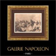 Bataille de Fuentes de Oñoro - Guerres Napoléoniennes -  Guerre d'Indépendance Espagnole - Masséna - Wellington (1811)