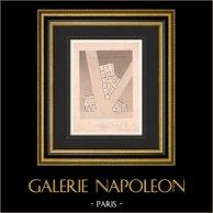 Architect's Drawing - Maisons de rapport - 16th Arrondissement of Paris - France (Gustave Rives)