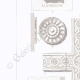 DETAILS 02 | Architect's Drawing - Grave of Abel de Pujol - Cemetery Saint-Roch - Valenciennes - North (E. Guillaume - G. Crauck)