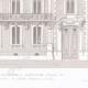DÉTAILS 04 | Dessin d'Architecte - Hôtel de la Caisse d'Epargne - Abbeville - Somme - France (M. Simon Architecte)