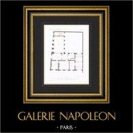 Dessin d'Architecte - Hôtel de la Caisse d'Epargne - Abbeville - Somme - France (M. Simon Architecte)