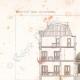 DETAILS 01 | Architect's Drawing - Hôtel de la Caisse d'Epargne - Abbeville - Somme - France (M. Simon)