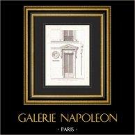 Dessin d'Architecte - Maison - Rue Ollivier - Paris (M. Laurancy Architecte)