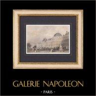 Vue de Paris - Palais des Tuileries (France)