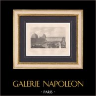 Tuileries Palace - Military parade by Napoleon Bonaparte (1800)