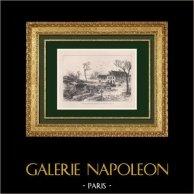 Tumbas Prusianas en Châtillon - Guerra Franco-Prusiana 1870 - Sitio de París - Isla de Francia (Francia)