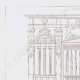 DETAILS 01   Architect's Drawing - Laon Cathedral - Aisne (France)