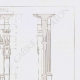 DETAILS 05   Architect's Drawing - Laon Cathedral - Aisne (France)