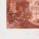 DÉTAILS 05   Décoration - Un vestibule - Esquisse (L. Gosse peintre décorateur)