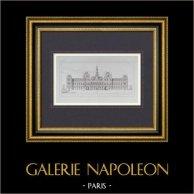 Architect's Drawing - Hotel de Ville de Paris - Project (M. Davioud)
