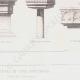 DÉTAILS 04 | Dessin d'Architecte - Bénitiers - Baptistères - Moyen Age - Renaissance