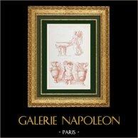Decoration - Collection of the Louvre Museum in Paris - Italian School - XVIth Century - Polidoro da Caravaggio - Painter
