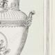 DÉTAILS 05 | Dessin d'Architecte - Vase pour la Grande Galerie du Louvre - Esquisse (Henri Mayeux)