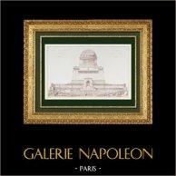 Architect's Drawing - A Pantheon (Gaston Redon)