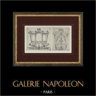 Carrosse de gala (Picart)   Héliogravure originale d'après Picart. 1923