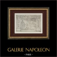 Tapisserie - Jardin d'Academo (Etienne Delaune)