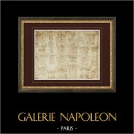 Decoration - Capitals - XVIth Century