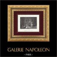 Napoleon empfängt die Herzogin von Polignac