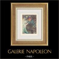 Gargantua and Pantagruel - Rabelais - Sailboat - Storm