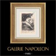 Erotische Prent - Gargantua en Pantagruel - Rabelais - Faun