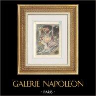 Erotisk Gravyr - Gargantua och Pantagruel - Rabelais