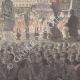 DÉTAILS 05   Prestation de Serment du Roi de Bassac - Bouddhisme - Mékong - Indochine française (Viêt Nam)