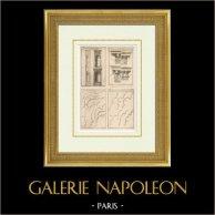 Architecture - Decoration - Niche - Cornice - Castle of Maisons-Laffitte - Clagny