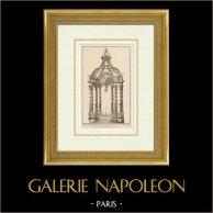 Muebles Litúrgicos - Baldaquino - Altar - Iglesia de Saint Sulpice - VI Distrito de París