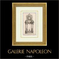 Meubles Liturgiques - Baldaquin de l'Eglise de l'Oratoirel - Temple protestant de l'Oratoire du Louvre - 1er Arrondissement de Paris
