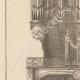 DÉTAILS 02   Meubles Liturgiques - Buffet d'Orgues - Eglise Saint-Séverin - 5ème Arrondissement de Paris