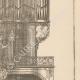 DÉTAILS 05   Meubles Liturgiques - Buffet d'Orgues - Eglise Saint-Séverin - 5ème Arrondissement de Paris