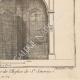 DÉTAILS 06   Meubles Liturgiques - Buffet d'Orgues - Eglise Saint-Séverin - 5ème Arrondissement de Paris