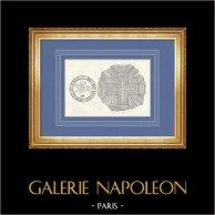 Brons Sigill (Casteljaloux) - Mosaiken lappa (Eauze)