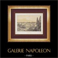 Vue de Paris - Les Halles Centrales - Halles de Paris - 1er Arrondissement de Paris