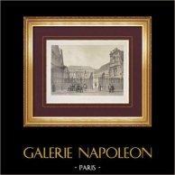 View of Paris - Palais des Beaux-Arts - 6th Arrondissement of Paris