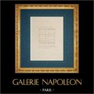 Dessin d'Architecte - Italie - Rome moderne - Palais Linotte