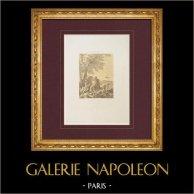 Französische malerei - Nach die Schlacht (Joseph Parrocel)