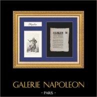 Imperial Decree - Napoleon - 1811 - Portrait of the Marshal Jourdan