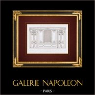 Architektenzeichnung - Haus - Gebäude - Avenue des Champs-Elysées - Paris (Victor Marie)