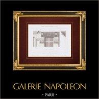 Bouwtekening - Huis - Avenue des Champs-elysées - Parijs (M. Lobrot)
