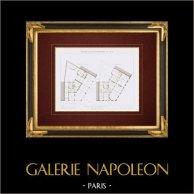 Architect's Drawing - House - Avenue des Champs-Elysées - Paris (M. Lobrot)