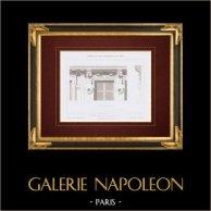 Disegno di Architetto - Casa - Avenue des Champs-Elysées - Parigi (M. Lobrot)