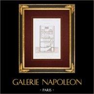 Dessin d'Architecte - Maison - Rue Trudon - Paris (Charles Duval Architecte)