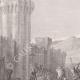 DÉTAILS 02   Prise de Ptolémaïs - Philippe Auguste - Richard Coeur de Lion - Troisième croisade (1191)