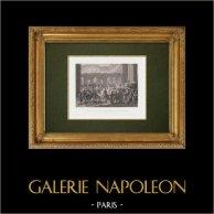 Louis-Philippe quitte le Palais-Royal pour se rendre à l'Hotel de Ville (31 Juillet 1830)
